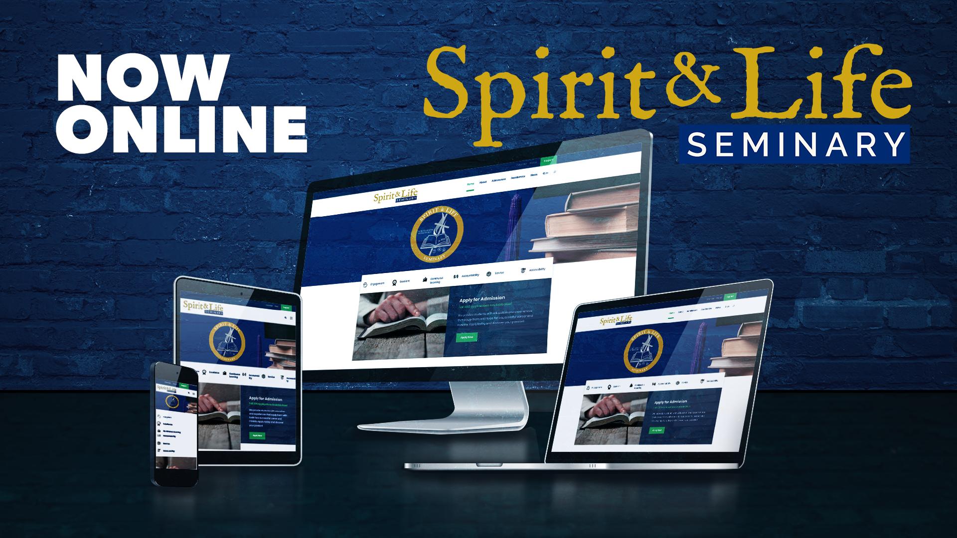 Le site du Séminiare Esprit et Vie est lancé